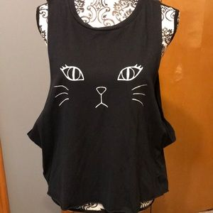 Brandy Melville cat tank top